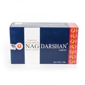 Räucherstäbchen Golden Nag Darshan (12 Pakete)