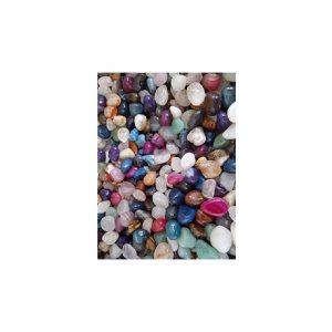 Trommelsteine Achat Mix farbig (10-20 mm) - 100 Gramm