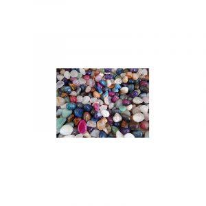 Trommelsteine Achat Mix farbig (10-20 mm)