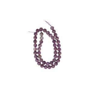 Edelstein Perlen-Strang Amethyst (8 mm)