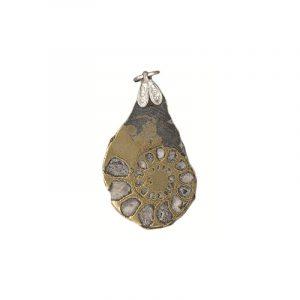 Edelsteinanhänger Ammonit