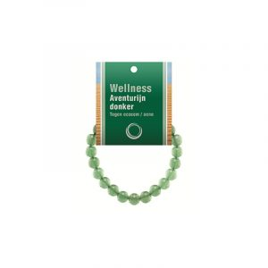Powerbead Armband Aventurin grün (mit Kärtchen)