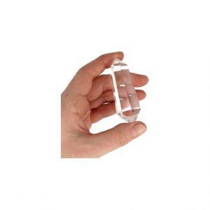 Bergkristall Doppelender Poliert (80 - 100 Gramm)