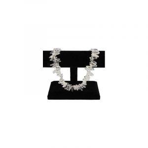 Edelstein Perlen-Strang Bergkristall