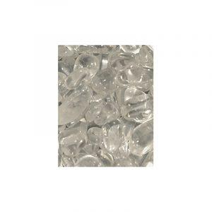 Trommelsteine Mix Bergkristall (5-10 mm)