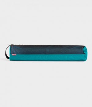 Manduka Yogatasche WELCOME Breathe Easy - Harbour - Grün/Blau - 71 x 18 x 15 cm