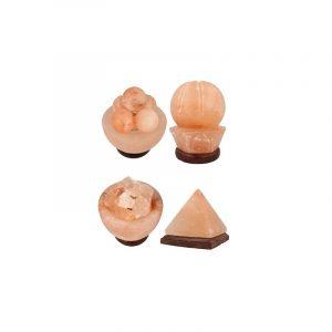 Kombi-Salzstein Formleuchten (4 Stück)