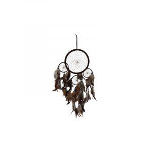 Traumfänger Dunkelbraun (22 cm)