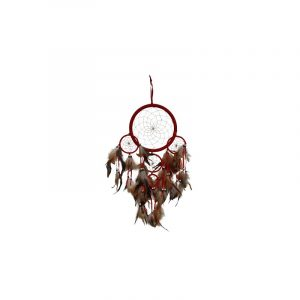Traumfänger Rot (22 cm)