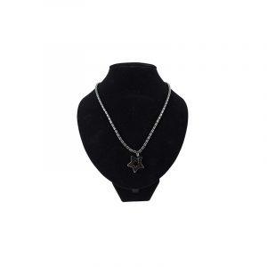 Edelstein Halskette Hämatit mit Stern-Anhänger
