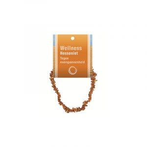 Splitterarmband Hessonit (mit Kärtchen)