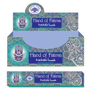 Green Tree Weihrauch Hand Of Fatima (12er Pack)