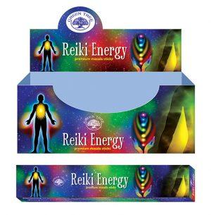 Green Tree Weihrauch Reiki Energie (12er Pack)
