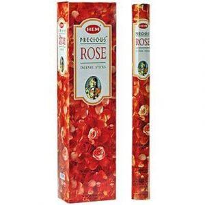HEM Räucherstäbchen Precious Rose (Extra Lang - 6 Packungen mit 10 Stäbchen)