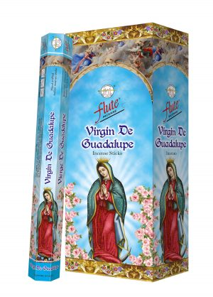 Flute Raucherstäbchen Jungfrau De Guadalupe (6 Packungen mit 20 Stäbchen)