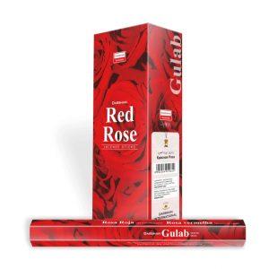 Darshan Weihrauch Rote Rose (6 Packungen)
