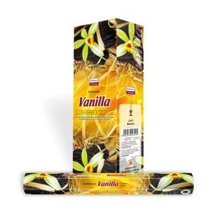 Darshan Raucherstäbchen Vanille (6 Packungen mit 20 Stäbchen)