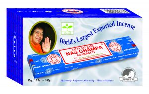 Nag Champa Weihrauch (12er Pack)