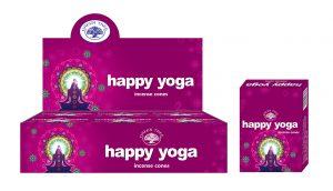 Green Tree Räucherkegel Glücklicher Yoga (12 Packungen)