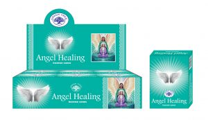 Green Tree Räucherkegel Angel Healing (12 Packungen)