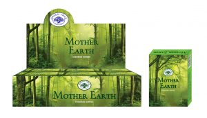 Green Tree Räucherkegel Mother Earth (12 Packungen mit 10 Kegeln)