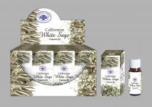 Wachten ML - Green Tree Duftöl Kalifornischer Weißer Salbei (12 Stück)