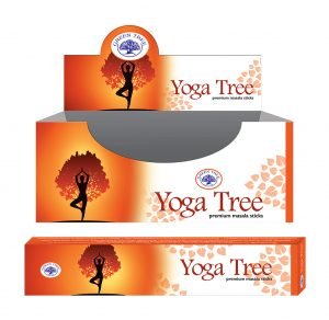 Green Tree Räucherstäbchen Yoga Tree (12 Packungen à 15 Gramm)
