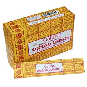 Goloka Weihrauch Nag Champa (12er Pack)