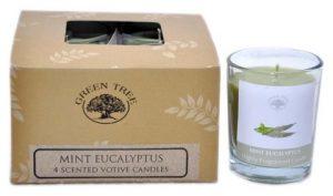 Duftkerze Minze Eukalyptus