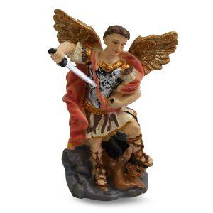 Statue Erzengel St Michael (8 cm)