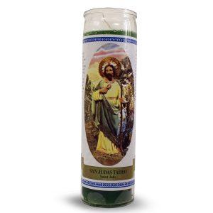 Bedruckte Kerze St Jude