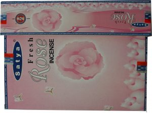 Nag Champa Weihrauch Frische Rose (12er Pack)