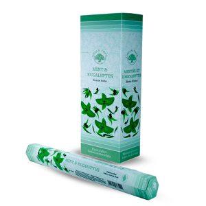 Green Tree Weihrauch Minze und Eukalyptus (6er Pack)