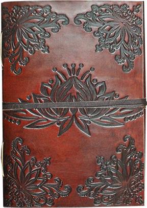 Notizbuch Lotus (Leder)