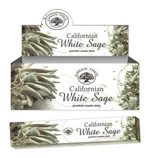 Green Tree Weihrauch Kalifornischer Weißer Salbei (12 Pakete)