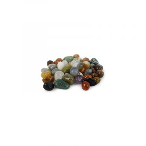 Trommelsteine India Mix (20-40 mm / 1 kg)