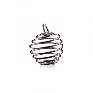 Spiral oder Käfig Anhänger Mittel (25 mm)