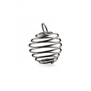 Spiral oder Käfig Anhänger Mini (8 mm)