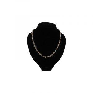 Halskette Labradorit Oval