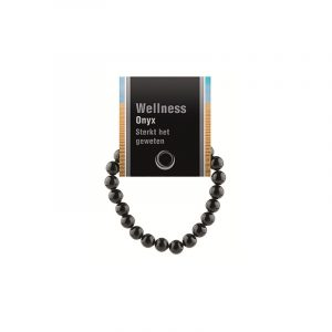 Powerbead Armband Onyx (mit Kärtchen)