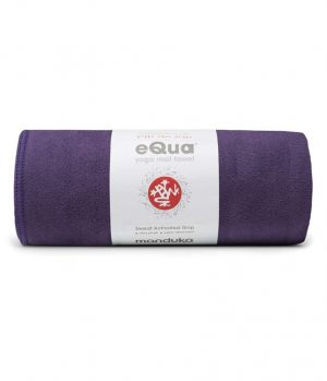 Manduka eQua Yoga Handtuch - Magic - Violett (Klein)