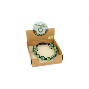 Edelsteine Shamballa Armband Aventurin grün