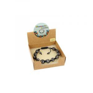 Edelsteine Shamballa Armband Hämatit