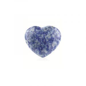 Edelstein Herz aus Sodalith (45 mm)