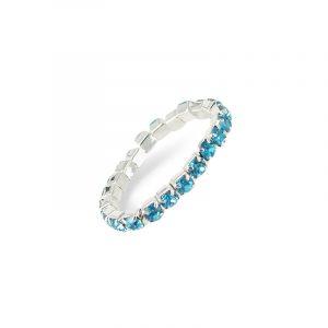 Stretch Ring Blau