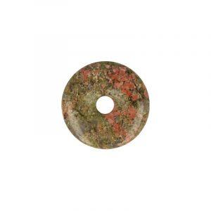 Donut aus Unakit (40 mm)