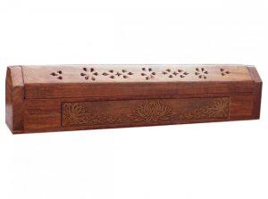 Kistchen/Halter für Räucherstäbchen, Lotus