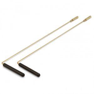 Wünschelrute pro Paar aus Messing (40 cm)