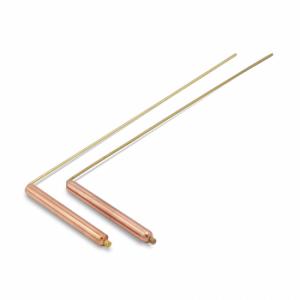 Wünschelrute pro Paar aus Messing/Kupfer (29 x 8 cm)
