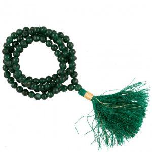 Mala Aventurin AA Qualität 108 Perlen mit Tasche